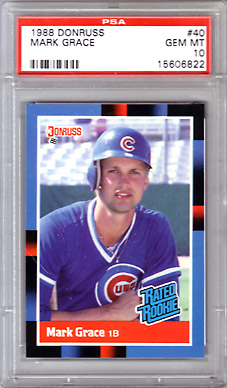 1988 Mark Grace Baseball Cards