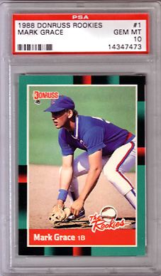 1988 Donruss The Rookies #1 PSA 10