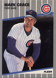 1989 Mark Grace Baseball Cards