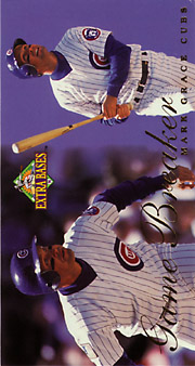 1994 Fleer Extra Bases #13 Game Breakers