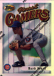 1996 Topps Finest #189 Finest Gamers Refractor