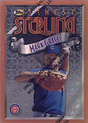 1996 Topps Finest #267 Sterling Finest Refractor
