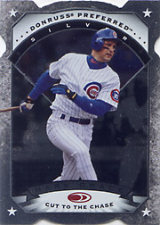 1997 Donruss Preferred #84 Silver Cut to the Chase Die-Cut