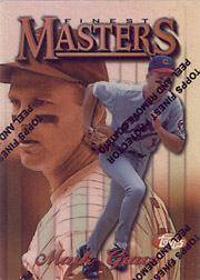 1997 Topps Finest #262 Finest Masters Refractor