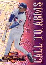 1998 Donruss #174 Donruss Crusade Call to Arms Purple (Prototype Card, Never Issued)