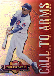 1998 Donruss #174 Donruss Crusade Call to Arms Red (Prototype Card, Never Issued)
