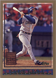 1998 Topps #168 Minted in Cooperstown