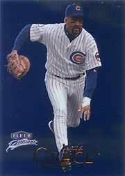 1999 Fleer Brilliants #41 Blue