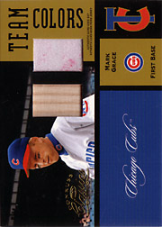2004 Donruss Classics #TC30 Team Colors Bat/Jersey SN#1/1