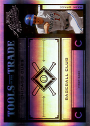2004 Playoff Absolute Memorabilia #TT-88 Tools of the Trade Black Spectrum SN#1/1