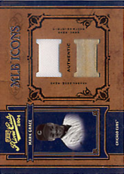 2004 Playoff Prime Cuts II #MLB-27 MLB Icons Jersey/Bat SN#1/1