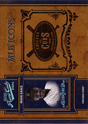 2004 Playoff Prime Cuts II #MLB-27 MLB Icons Century SN#1/1