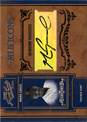 2004 Playoff Prime Cuts II #MLB-27 MLB Icons Century Silver Autograph SN#1/1