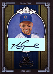 2005 Donruss Diamond Kings #427 Legend Black Frame Autograph SN#1/1