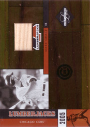 2005 Leaf Limited #LJ23 Lumberjacks Bat SN#1/1