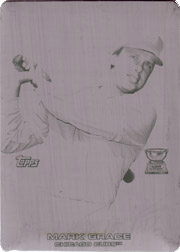 2005 Topps Rookie Cup #64 Black Printing Plate SN#1/1