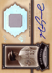 2005 Upper Deck SP Legendary Cuts #CC-MG Classic Careers Jersey Autograph Masterpiece SN#1/1