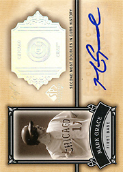 2005 Upper Deck SP Legendary Cuts #CC-MG Classic Careers Autograph Masterpiece SN#1/1