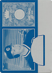 2006 Fleer Greats of the Game #CHC-MG Cubs Greats Cyan Printing Plate SN#1/1