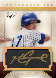 2014 Panini Immaculate #4 Immaculate Ink Autograph SN#1/1