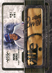 2016 Topps Tier 1 #LL-MG Legendary Lumber Bat Barrel SN#1/1
