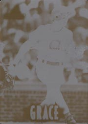 1997 New Pinnacle #39 Black Printing Plate SN#1/1