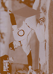 1997 Pinnacle #106 Yellow Printing Plate SN#1/1