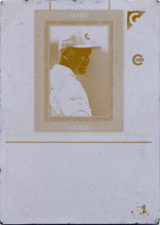 1998 Topps Gallery #58 Yellow Printing Plate Back SN#1/1