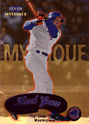 1999 Fleer Mystique #77 Masterpiece SN#1/1