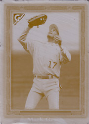 1999 Topps Gallery #61 Cyan Printing Plate SN#1/1