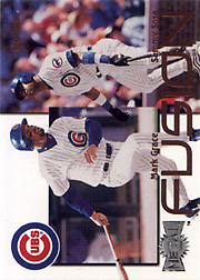 2000 Fleer Metal #6F Fusion with Sammy Sosa