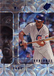 2000 Upper Deck SPx #22 Radiance SN#029/100