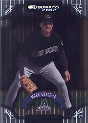 2002 Donruss #26 Career Stat Line SN#147/163