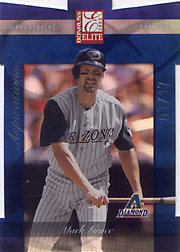 2002 Donruss Elite #44 Aspirations SN#07/17