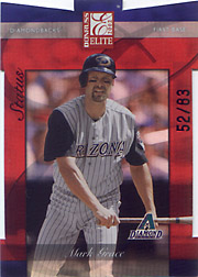 2002 Donruss Elite #44 Status SN#52/83