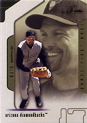 2002 Fleer Flair #12 Flair Collection SN#087/150