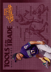 2002 Playoff Absolute Memorabilia #TT71 Tools of the Trade Gold