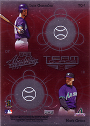 2002 Playoff Absolute Memorabilia #TQ2 Team Quads