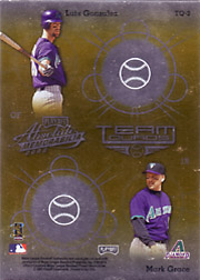2002 Playoff Absolute Memorabilia #TQ2 Team Quads Gold