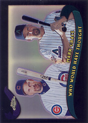 2002 Topps Traded Chrome #T272 Who Would Have Thought Black Refractor SN#054/100