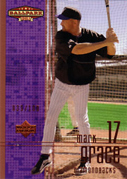 2002 Upper Deck Ballpark Idols #133 Bronze SN#039/100