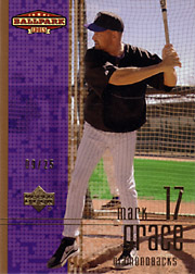 2002 Upper Deck Ballpark Idols #133 Gold SN#09/25