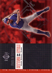 2002 Upper Deck Piece of History #H16 Hitting for the Cycle