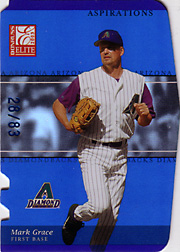 2003 Donruss Elite SN#85 Aspirations SN#28/83