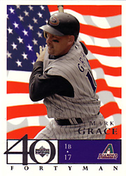 2003 Upper Deck 40-Man #491 Red, White & Blue