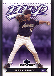 2003 Upper Deck MVP #13 Black SN#39/50
