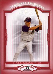 2004 Donruss Classics #59 Timeless Tributes Red SN#089/100