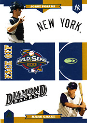 2004 Donruss World Series #FO-3 Face Off with Jorge Posada