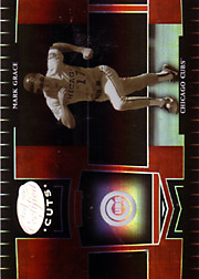 2004 Leaf Certified Cuts #227 Marble Red SN#092/100