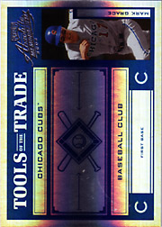 2004 Playoff Absolute Memorabilia #TT-88 Tools of the Trade Blue Spectrum SN#078/125